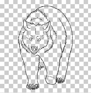 Whiskers Cat Snout White Sketch PNG
