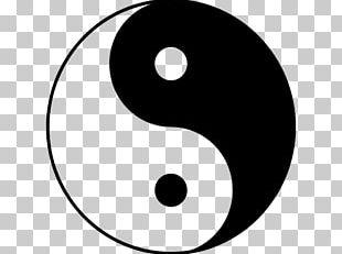 Yin And Yang Symbol China Taoism PNG
