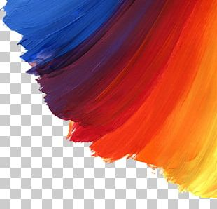 Watercolor Painting Brush Oil Paint PNG