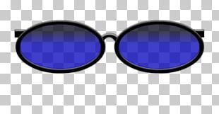 Eyewear Blue Sunglasses Goggles PNG
