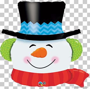 Mylar Balloon Santa Claus Christmas Day Snowman PNG