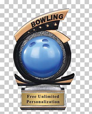 Trophy Award Bowling Gold Medal PNG
