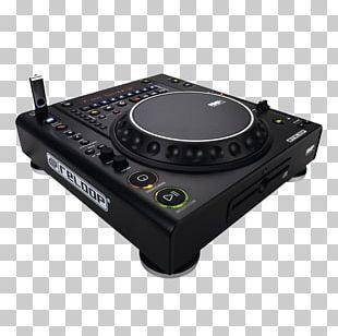 CD Player Traktor DJ Controller Media Player Disc Jockey PNG