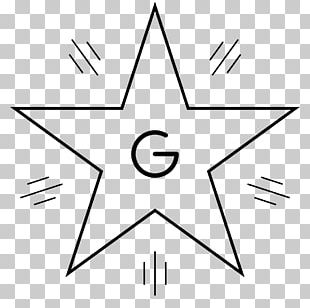 Coloring Book Star Hollywood Walk Of Fame Light PNG