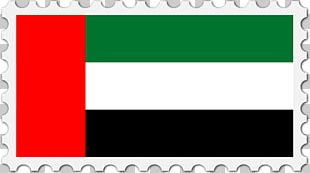 Flag Of The United Arab Emirates National Flag Postage Stamps PNG