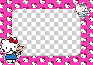 Hello Kitty Frames Animation PNG