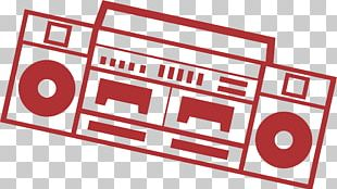 Radio Broadcasting Red Euclidean PNG