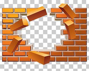 Brick Wall Euclidean PNG