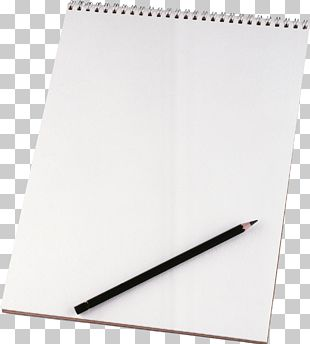 Paper Notebook Pencil Stationery PNG