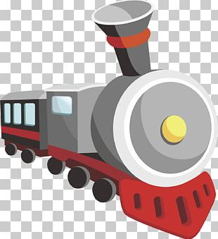 Train Cartoon PNG