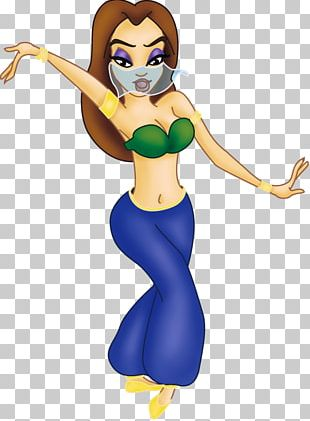 Belly Dance Cartoon Animation Drawing PNG