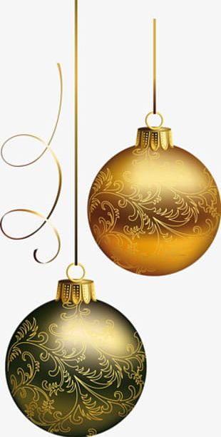 Christmas Balls To Pull Material Free PNG