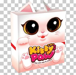 Kitten Cat Board Game Paw PNG