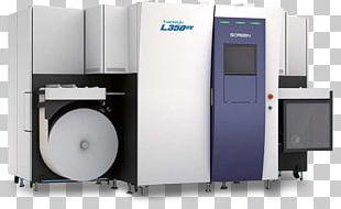 Printing Press Digital Printing Label Printer PNG