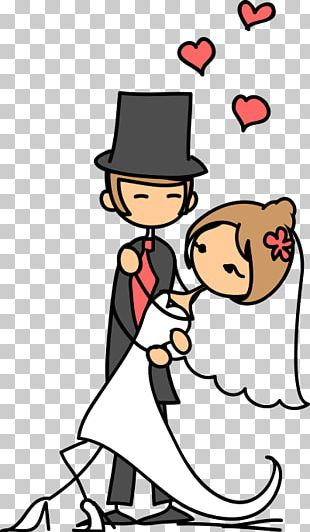 Marriage Drawing Couple Wedding PNG