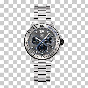 TAG Heuer Watch Chronograph Quartz Clock Bracelet PNG