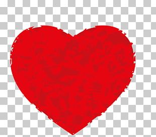 Valentine's Day Red Heart Romance PNG