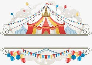 Circus Label PNG