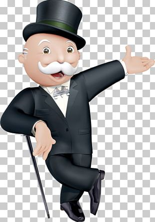 My Monopoly Rich Uncle Pennybags Board Game PNG