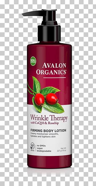 Lotion Avalon Organics Wrinkle Therapy Facial Serum Cream Rose Hip Seed Oil PNG