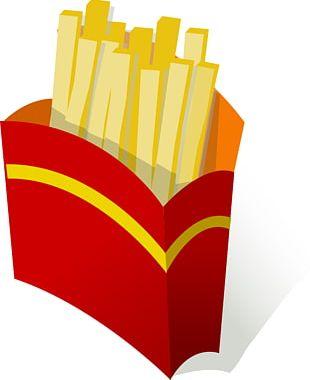 Hamburger Hot Dog Junk Food French Fries Fast Food PNG