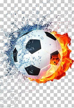 Football Mobile Phone Fire PNG