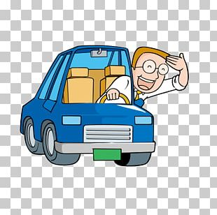 Driver Cartoon PNG