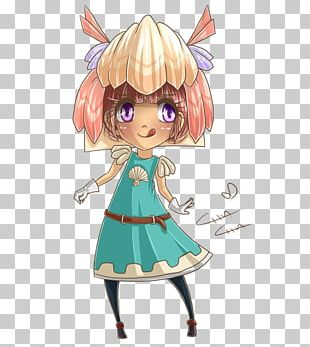 Human Hair Color Fairy Child PNG