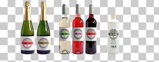 Liqueur Wine Champagne Glass Bottle PNG