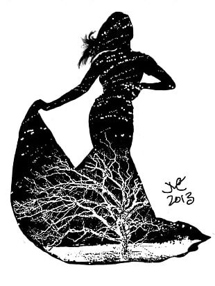 Silhouette Art Drawing PNG