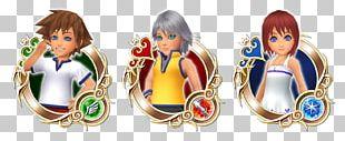 Kingdom Hearts χ Kairi Riku Heartless AND YOUNG PNG