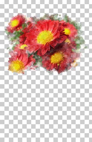Chrysanthemum Watercolor Painting Art Floral Design PNG