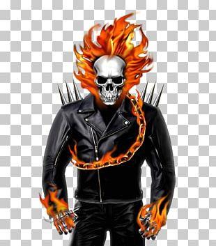 Johnny Blaze Carol Danvers Deadpool Cartoon Ghost PNG