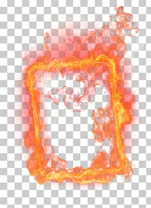 Flame Frames Photography PNG