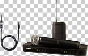 Shure SM58 Wireless Microphone Shure SM57 Wireless Microphone PNG