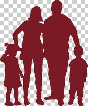 Family Silhouette Child Illustration PNG