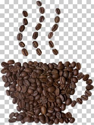 Instant Coffee Cafe Latte Coffee Bean PNG