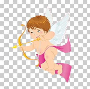 Valentines Day Cupid Love February 14 Heart PNG