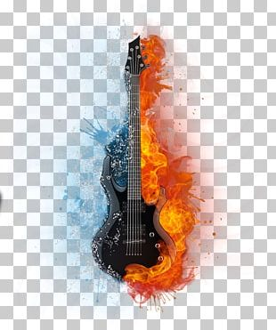 Guitar Musical Note PNG