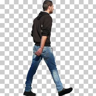 Walking Person Rendering Architecture PNG
