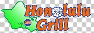 Honolulu Grill Logo Illustration Brand PNG