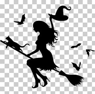 Witchcraft Halloween Decal PNG