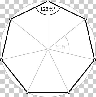Heptagon Internal Angle Regular Polygon Hexagon PNG