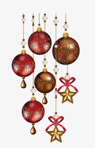 Christmas Balls Material PNG