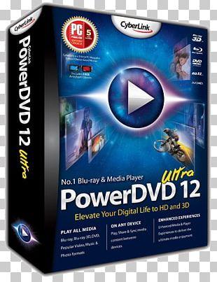 Blu-ray Disc PowerDVD CyberLink PowerDirector PhotoDirector PNG