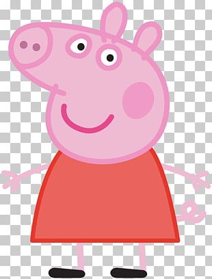 Daddy Pig Mummy Pig Standee Animated Cartoon PNG