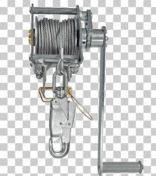 Winch Hoist Tripod Fall Arrest Wire Rope PNG