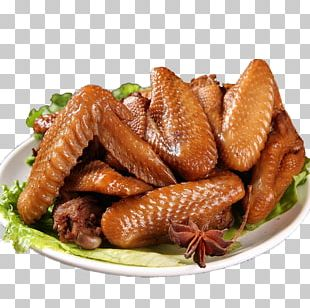 Chicken Leg Buffalo Wing Fried Chicken Food PNG