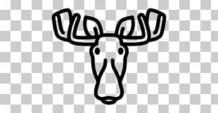 Moose Reindeer Computer Icons Antler PNG