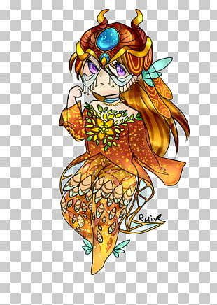 Illustration Costume Fairy Cartoon Flower PNG